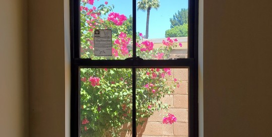 Arizona Window and Door in Scottsdale and Tucson showing long black windows