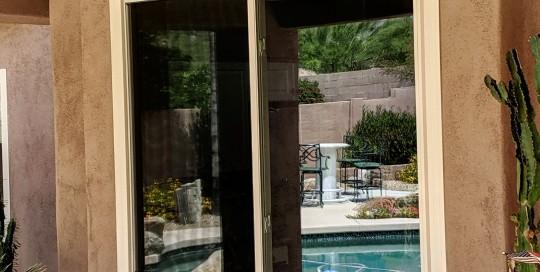 Arizona Window and Door in Scottsdale and Tucson showing home sliding window