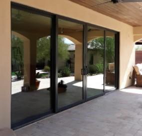 Arizona Window and Door in Scottsdale and Tucson showing panel back doors