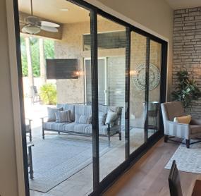 Arizona Window and Door in Scottsdale and Tucson showing panel back door