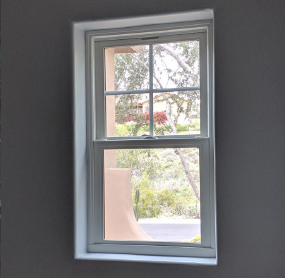 Arizona Window and Door in Scottsdale and Tucson showing white window to home