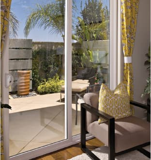 Arizona Window and Door in Scottsdale and Tucson showing sliding glass door
