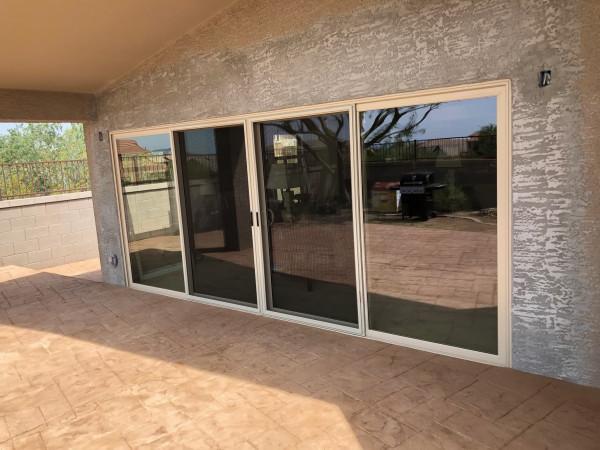 Sliding Door, Four Panel