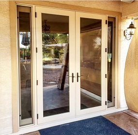 French Door with Operable Sidelights